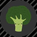 ambrosial, broccoli, brocoli, cartoon, clean food, ingredient, vegetable