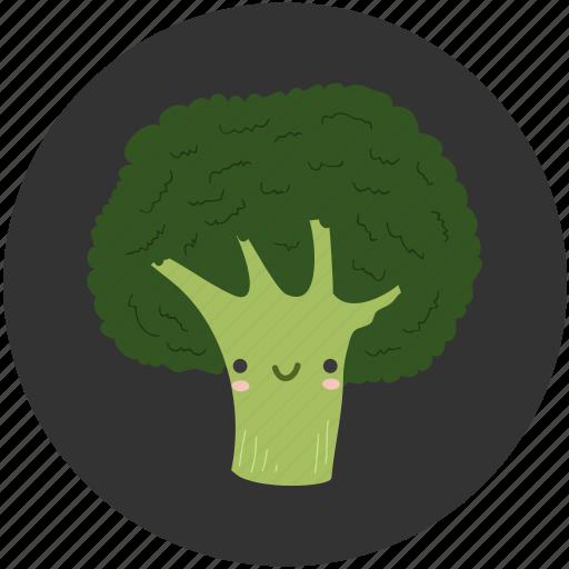 ambrosial, broccoli, brocoli, cartoon, clean food, ingredient, vegetable icon