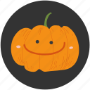 cartoon, food, halloween, ingredient, jack o lantern, pumpkin, vegetable