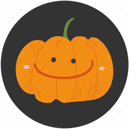 cartoon, food, halloween, ingredient, jack o lantern, pumpkin, vegetable icon