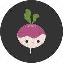 bulb, cartoon, clean food, food, turnip, vegetables, vegetarian icon