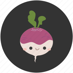 bulb, cartoon, clean food, food, turnip, vegetables, vegetarian icon