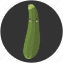cartoon, clean food, food, squash, vegetable, vegetarian, zucchini icon