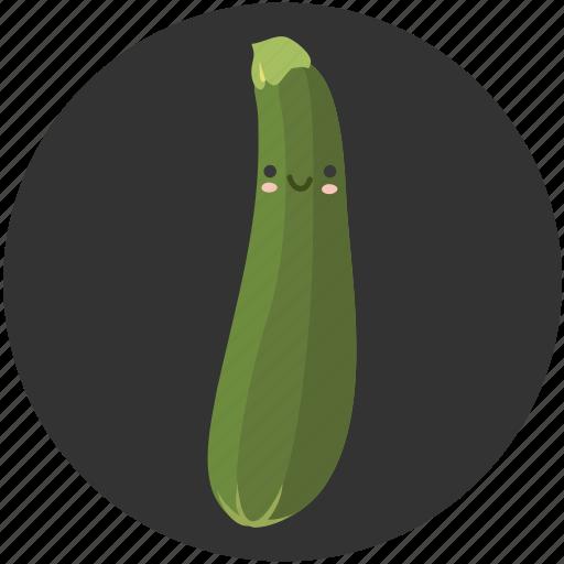 cartoon, clean food, food, squash, vegetable, vegetarian, zucchini icon
