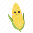 corn, food, ingredients, plant, vegetable icon