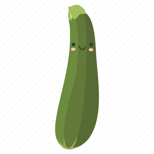 food, ingredients, plant, vegetable, zucchini icon