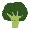 broccoli, food, ingredients, plant, vegetable icon