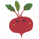 beetroot, food, ingredients, plant, vegetable icon