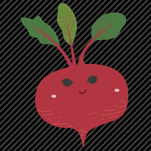 Beetroot, food, ingredients, plant, vegetable icon - Download on Iconfinder