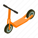 scooter, technology, toy, transport, transportation, vehicle icon