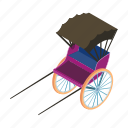 delivery, rickshaw, technologycart, transport, transportation, travel, vehicle icon