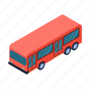 bus, technology, transport, transportation, travel, vehicle icon