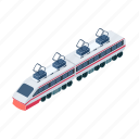 locomotive, technology, train, transport, transportation, vehicle icon