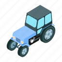 technology, tractor, transport, transportation, truck, vehicle icon