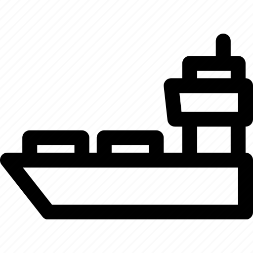 cargo, container, logistics, ship, shipping, vessel icon