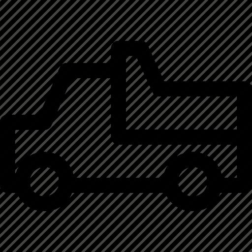 cargo, dump, freight, sand, transport, truck, vehicle icon