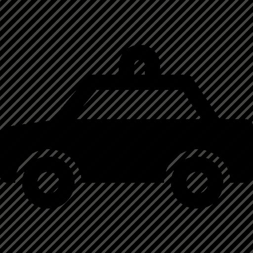 car, cop, officer, patrol, police, sedan, taxi icon