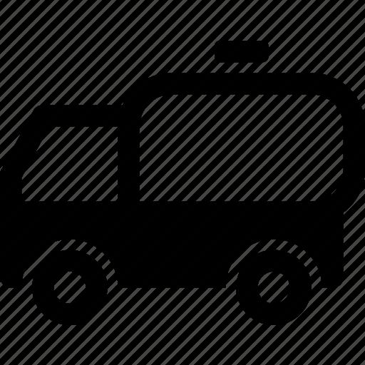 liquid, logistics, milk, oil, tank, transport, truck icon