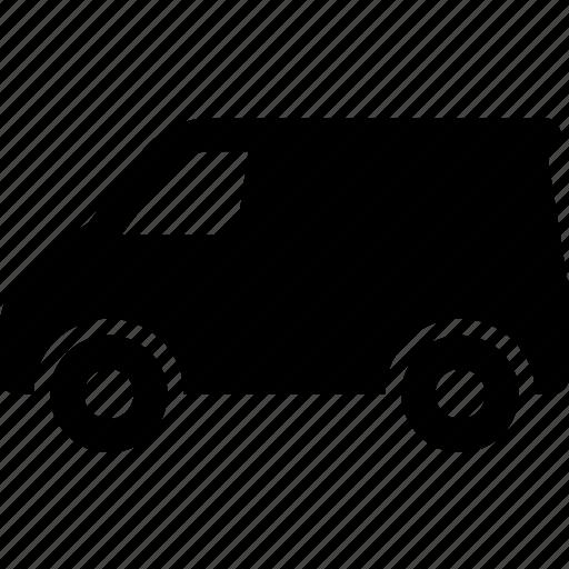 delivery, mini van, transport, travel, truck, van icon