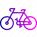 bicycle, bike, cycle, cycling, riding, travel, vehicle icon
