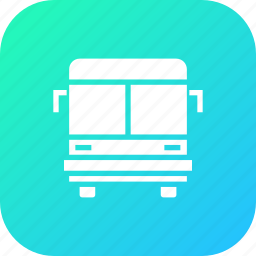 bus, public, school, transport, travel, vehicle icon