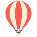 air, balloon, fly, holiday, hot, tourism, travel icon