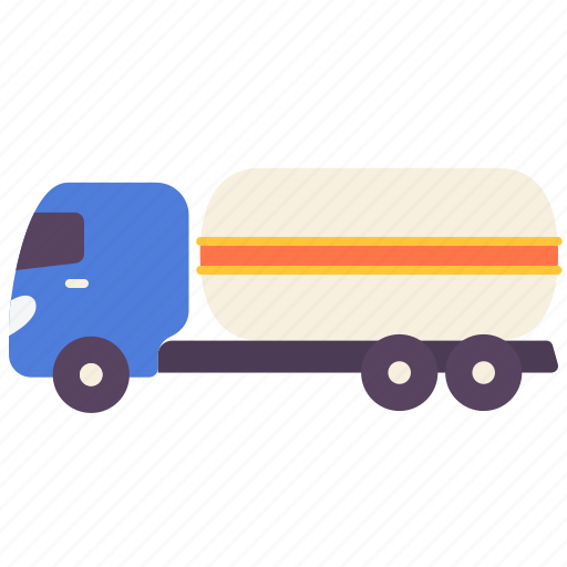 delivery, fuel, gas, oil, petrol, truck icon