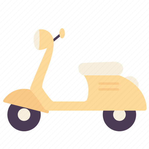 bike, delivery, motorbike, motorcycle, scooter, transportation, vehicle icon