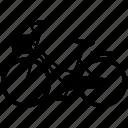 bicycle, bike, transportation, vehicle icon