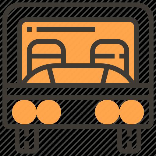 Transportation, auto, vehicle, automobile, car, transport, bus icon - Download