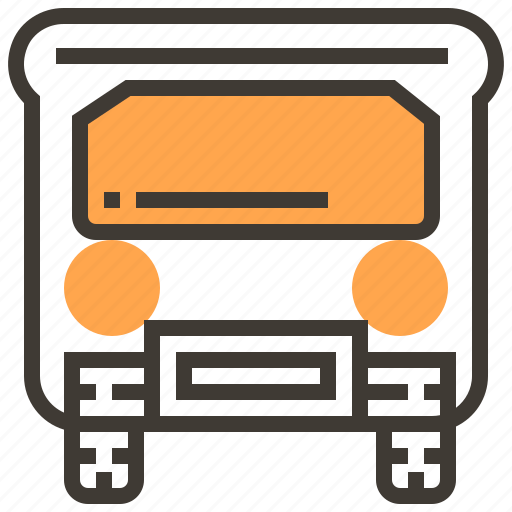 auto, automobile, bus, car, transport, transportation, vehicle icon