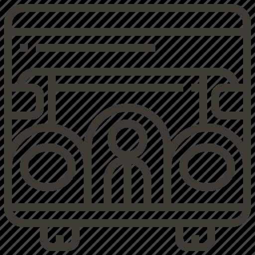 Automobile, car, transportation, vehicle, auto, bus, transport icon - Download on Iconfinder