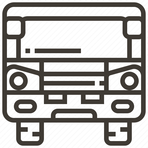 auto, automobile, bus, car, transport, transportation, vehicle icon