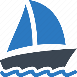 boat insurance, sailboat, watercraft, yacht icon