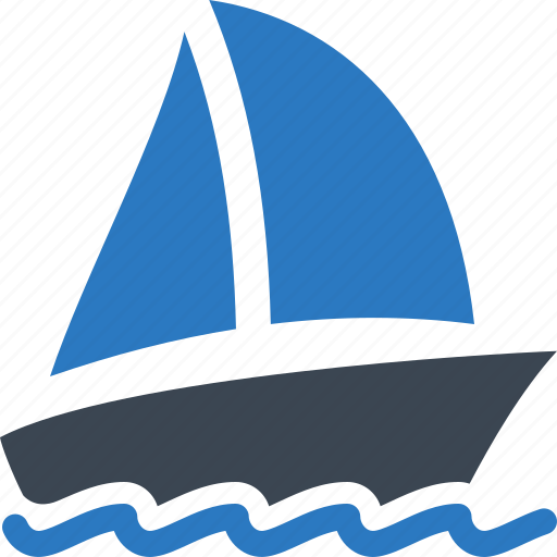 Boat insurance, sailboat, watercraft, yacht icon | Icon ...