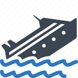 boat, marine insurance, ship, watercraft icon