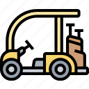 cart, golf, buggy, electric, transportation