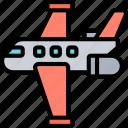 jet, plane, aviation, aircraft, airplane