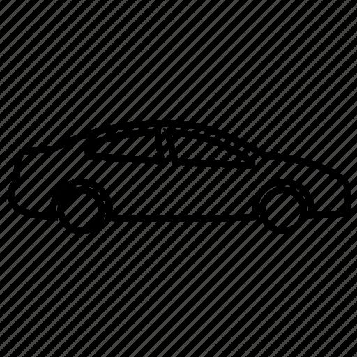 auto, car, mobile, sedan, vehicle icon