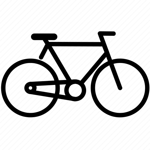 auto, bicycle, mobile, vehicle icon