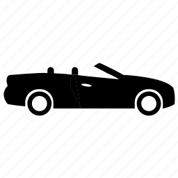 auto, car, convertible, mobile, vehicle icon
