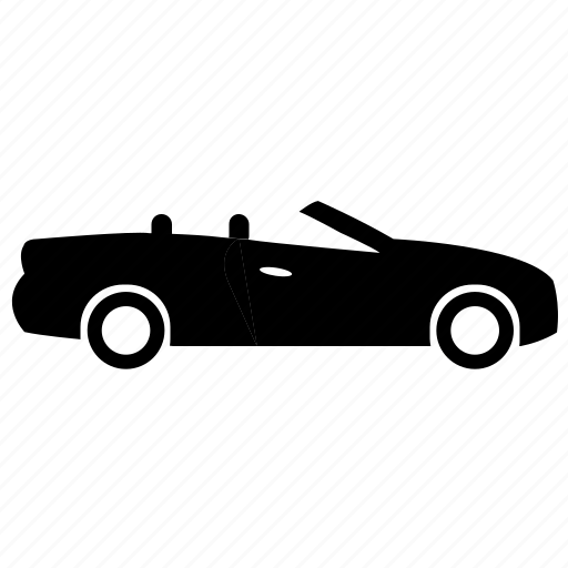 auto, car, convertible, mobile, vehicle icon