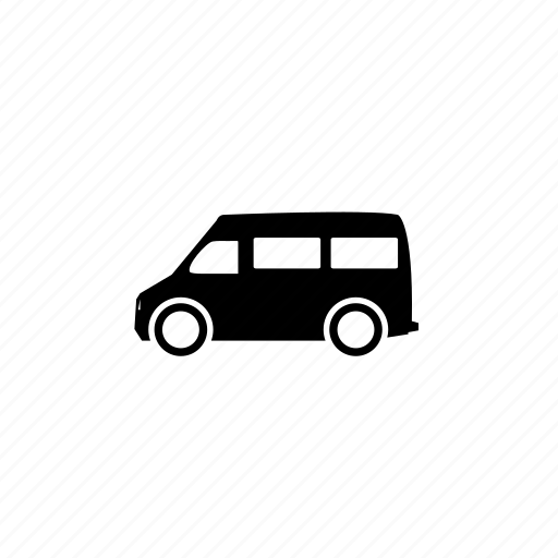 van, vehicle icon