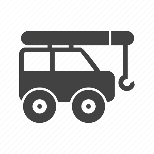 caterpillar, crane, loader, lorry, tractor, truck, vehicle icon