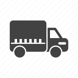 business, containers, delivery, logistics, shipping, transportation, truck icon