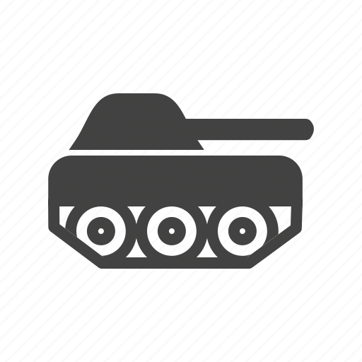 battle, gun, machine, tank, vehicle, war, weapon icon
