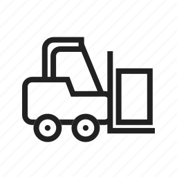 forklift, industry, lift, loader, store, truck, warehouse icon