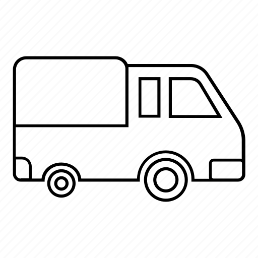 delivery, freight, quick, truck icon