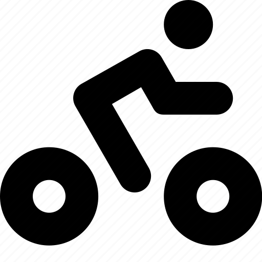 bicycle, vehicle icon