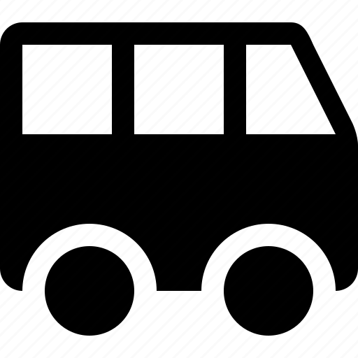 bus, vehicle icon